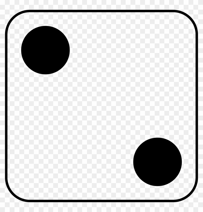 Open - Dice With Two Dots #419956