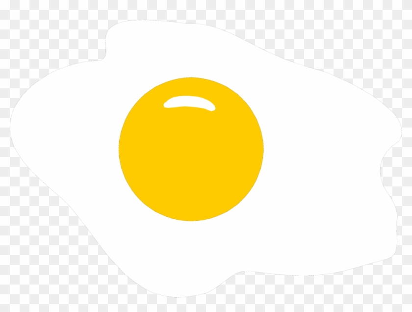 Illustration Of An Egg Cooked Sunny Side Up - Sunny Side Up Illustration #419971