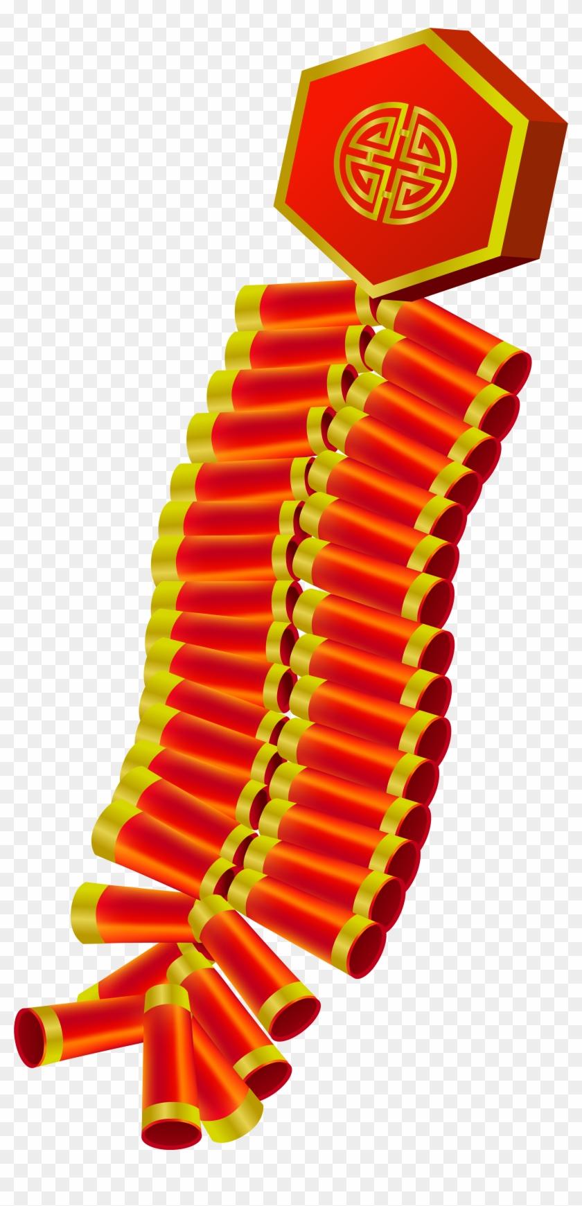 Firecracker Clipart - Chinese Firecrackers #420117
