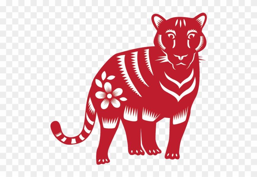 Tiger 2010, 1998, 1986, 1974, 1962, - Chinese New Year Zodiac Animals #420169
