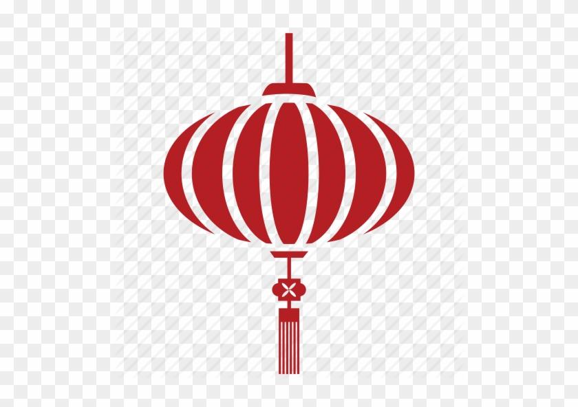 China Clipart Chinese Lantern - Chinese New Year Lantern Vector #420173