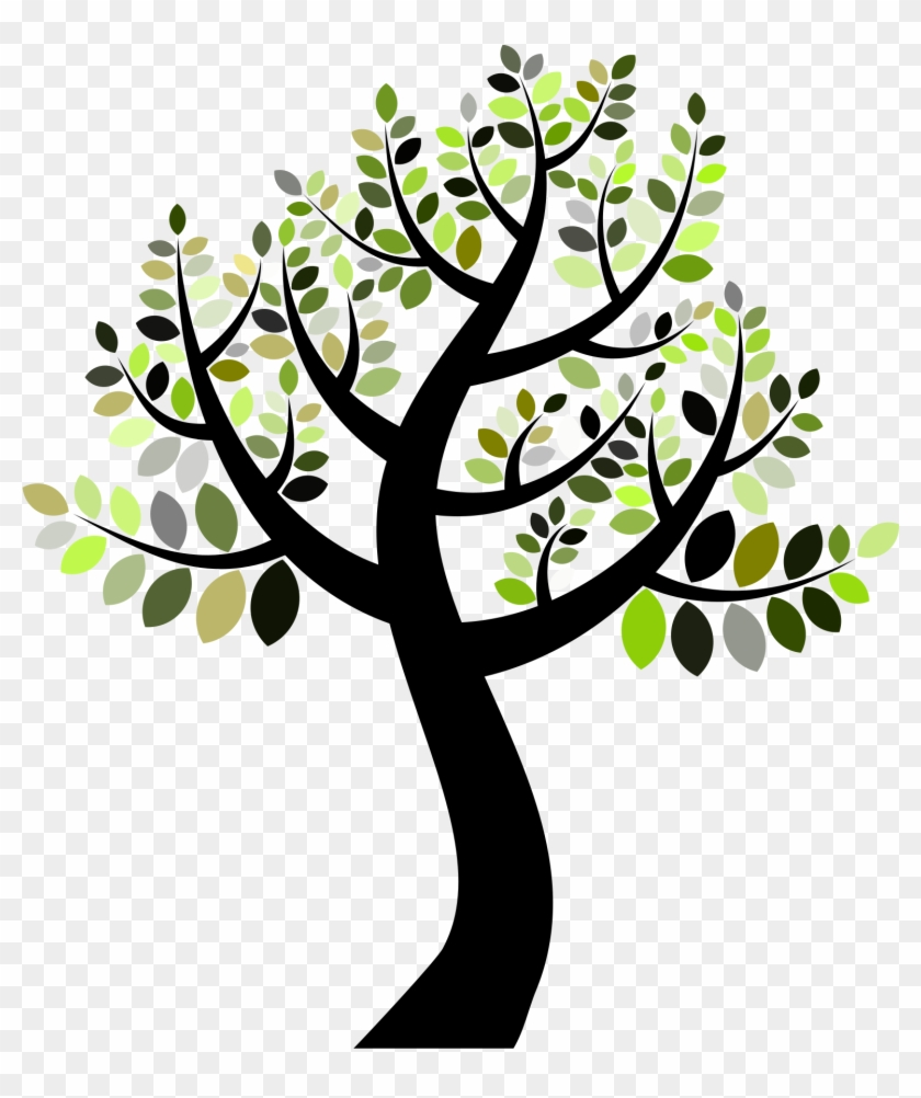 This Free Icons Png Design Of A Simple Tree - Simple Tree #420472