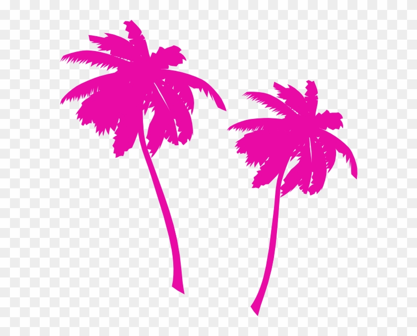 Palm Tree Clipart Vector - 80s Palm Tree Png #420590