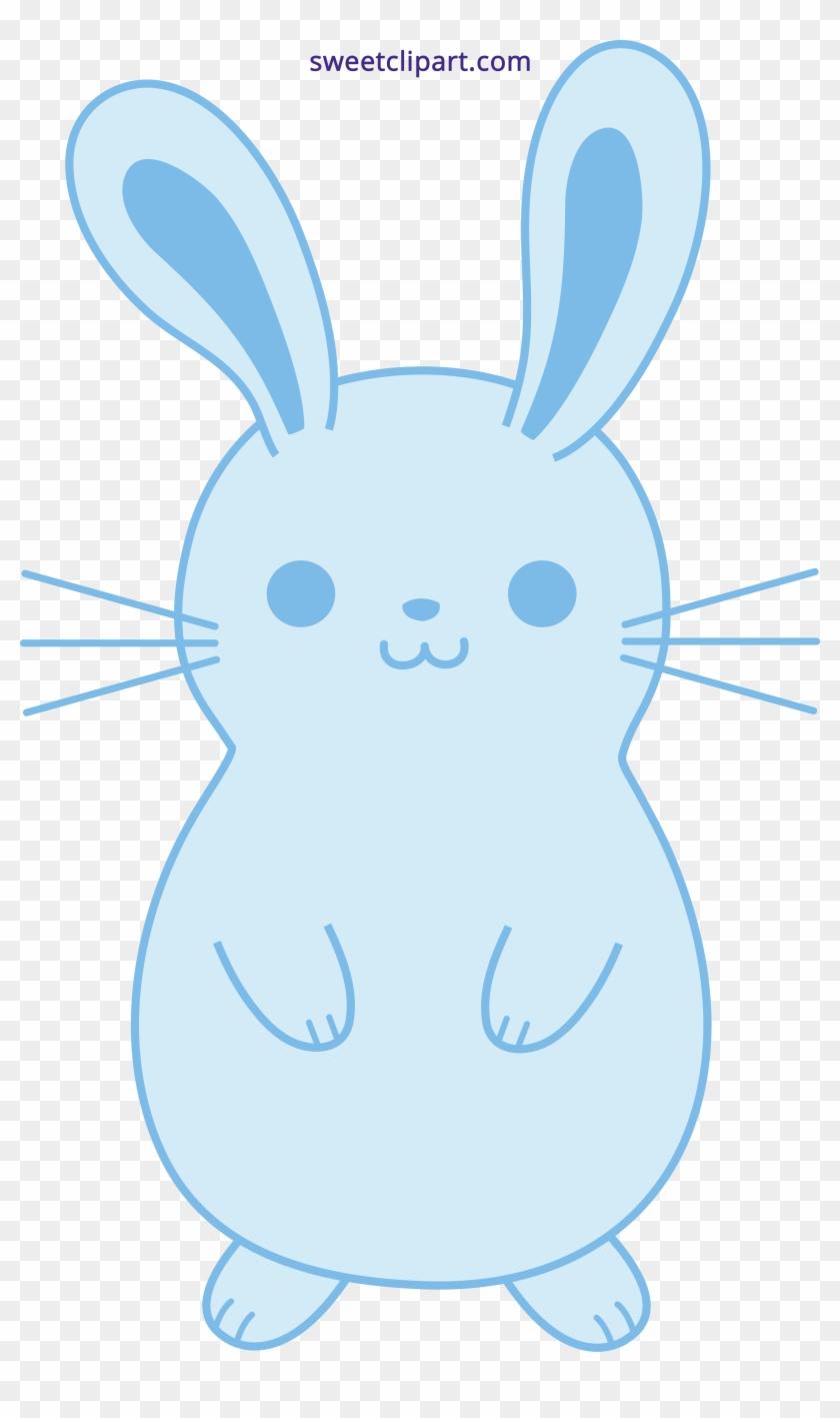 Cute Heart Bunny Drawing #420736