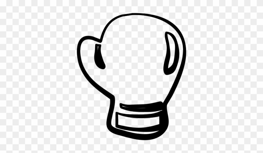 Clipart Super Cool Boxing Gloves Clipart Coloring Pages ...