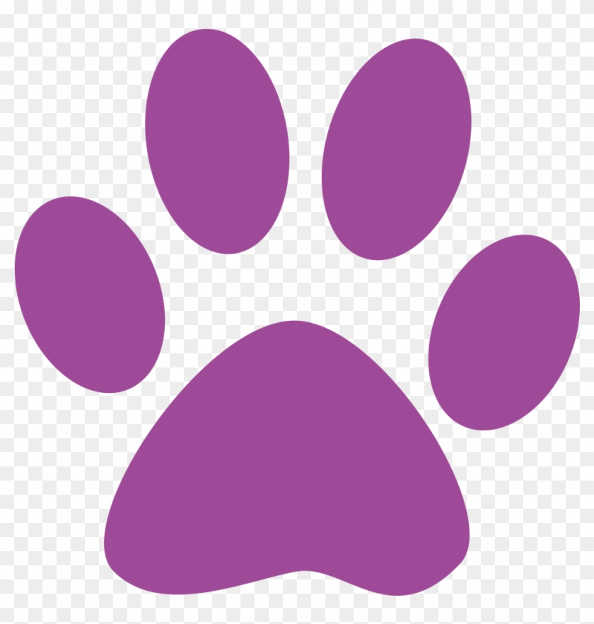 Paw Clipart Litter Puppy - South Park High School #68066