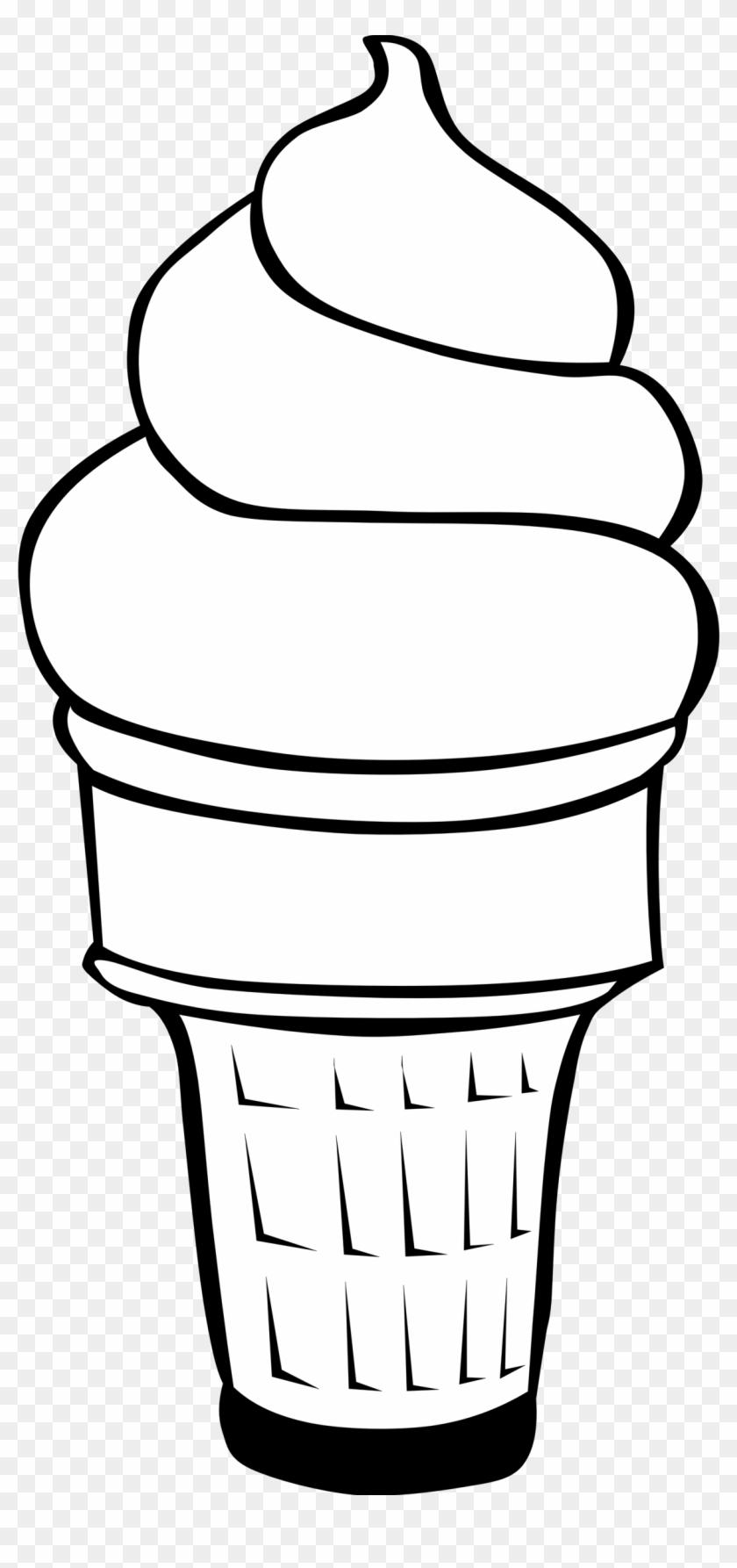 Fast Food, Desserts, Ice Cream Cones, Soft Serve - Ice Cream Cone Clip Art #68150