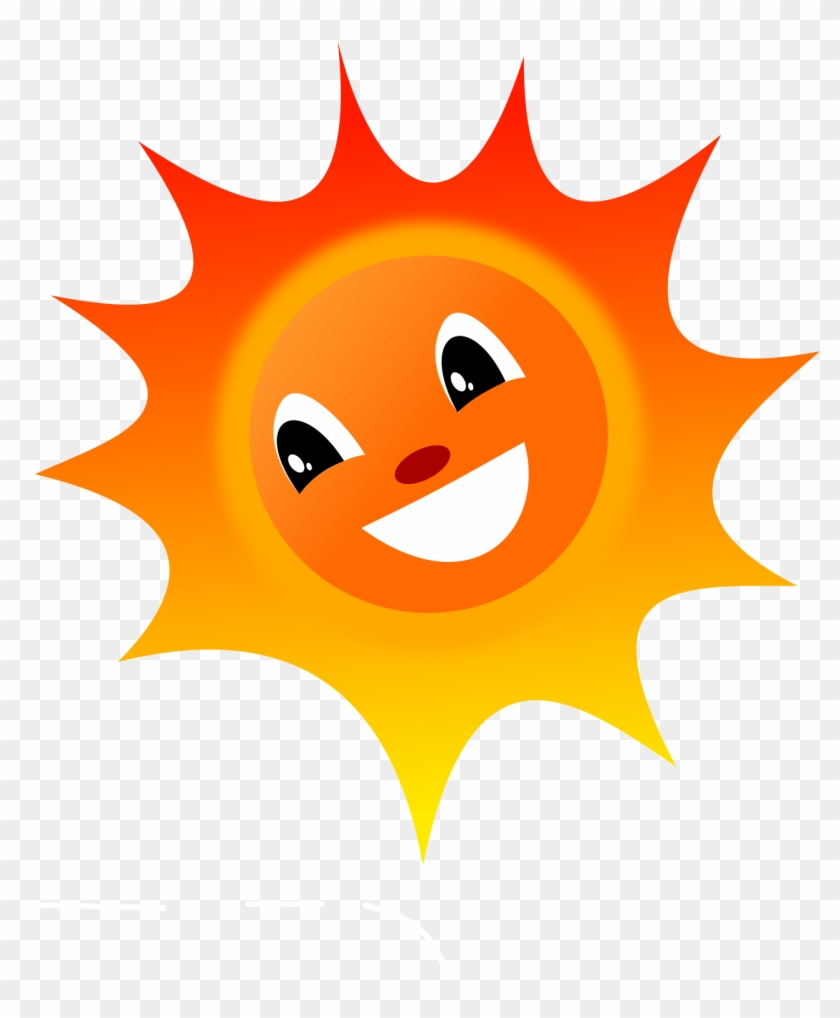 Hy Sunshine Clipart Free Clip Art Bay - Smiley Sun Png #68279