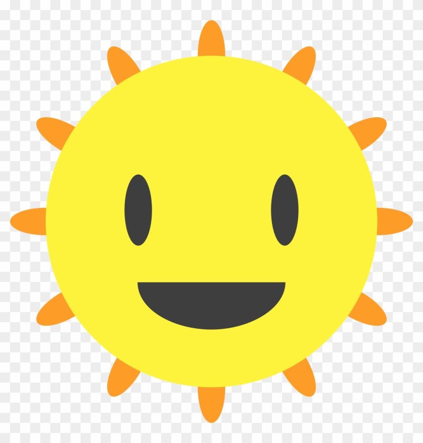 Clipart Happy Sun - Webp #68308