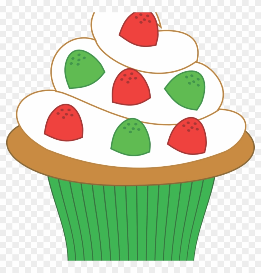 Cupcake Clipart Cupcake Clipart Free Download Clipart - Christmas Cupcake Clipart #68335