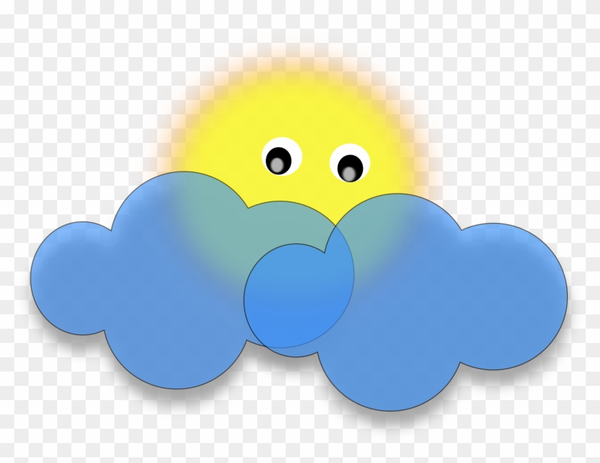 Clipart Of Clouds And Sun Cloud - Sun And Clouds Clip Art #68346