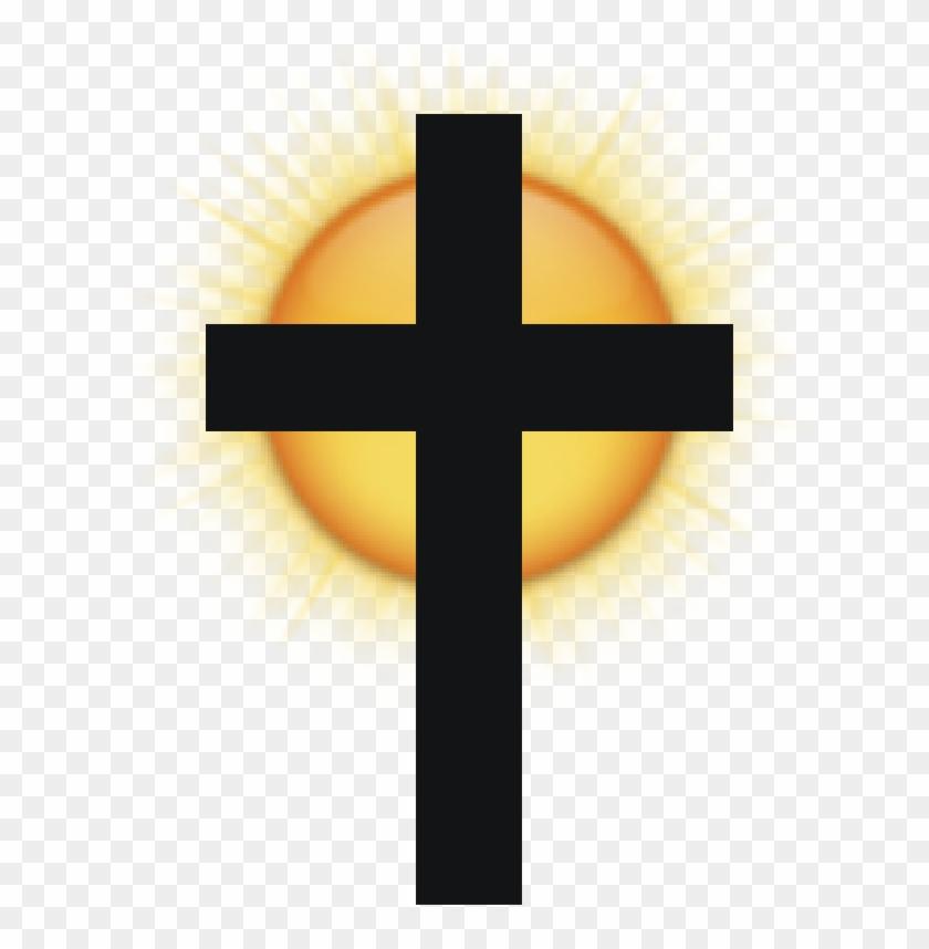 Sunshine Clipart Cross - Cross With Sun Clipart #68421
