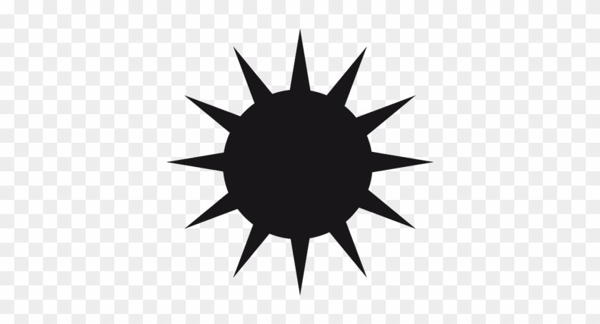 Sun Bear Clipart Bear Silhouette - Corel Draw Simple Design #68451