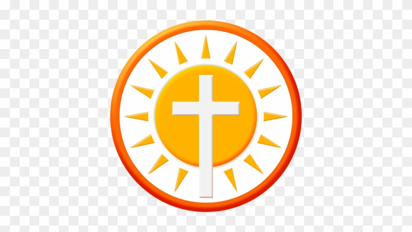 Sun Clipart Circle - Cross With Sun Clipart #68484