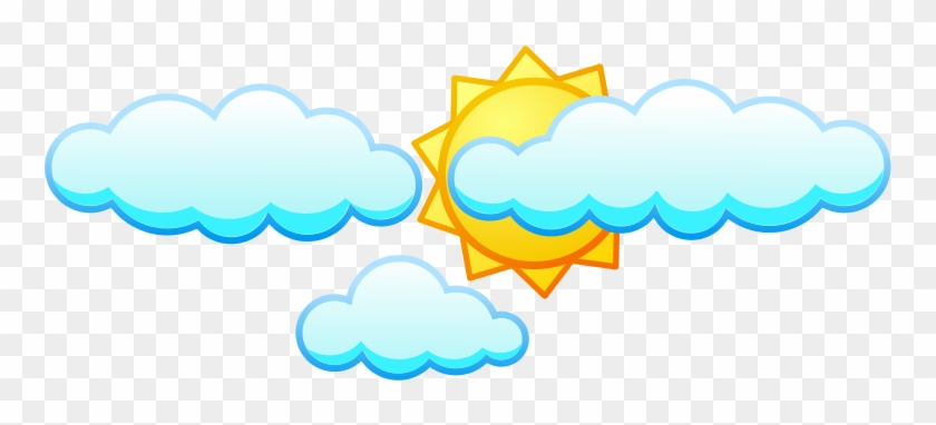 Clouds And Sun Clipart - Clip Art #68493