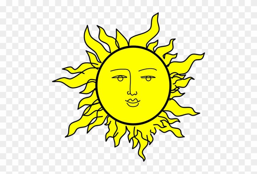 655 Sun Free Clipart Public Domain Vectors Rh Publicdomainvectors - Sun With A Face #68592