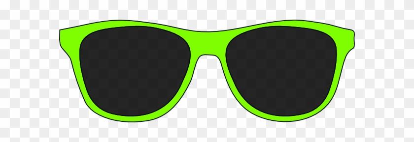 Green Sunglasses Clip Art At Clker Com Vector Clip - Cartoon Sunglasses #68721