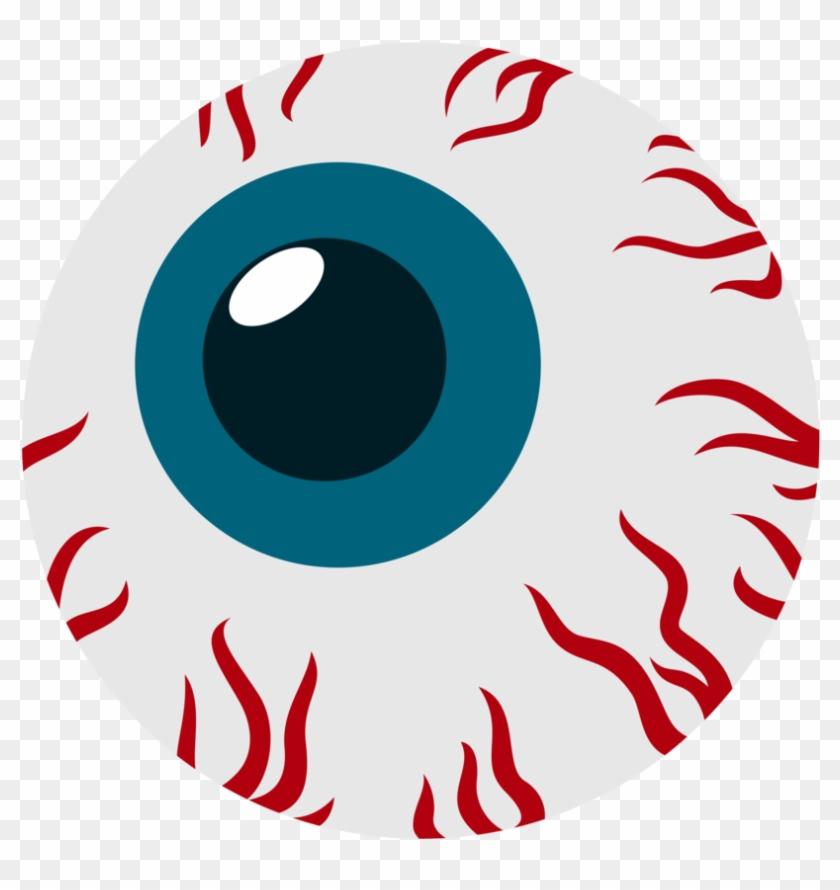 Red Eye Drawing Clip Art - Bloodshot Eyeball Cartoon #68755