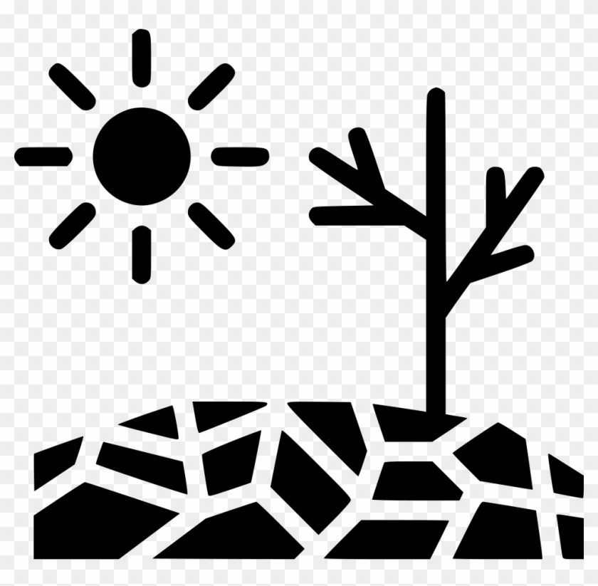 Drought Disaster Sun Comments - Drought Clipart Black And White #68950