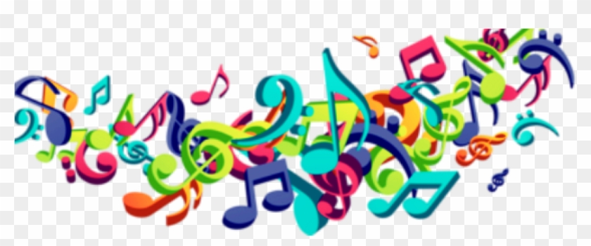 Colorful Musical Notes Png - Colorful Musical Notes Vector Png #69190