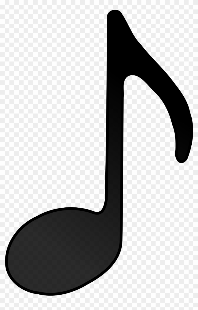 Eighth Note Clip Art Music Note Vector Free Free