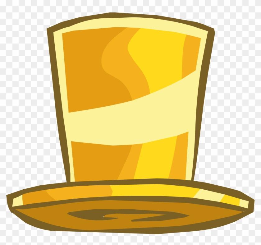 Club Penguin Gold Hat #69305