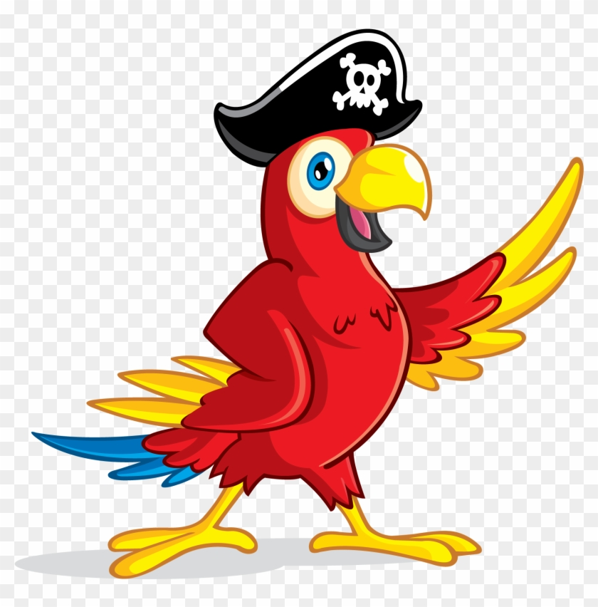Parrot Clipart Pirate Parrot - Pirate Parrot Png #69346