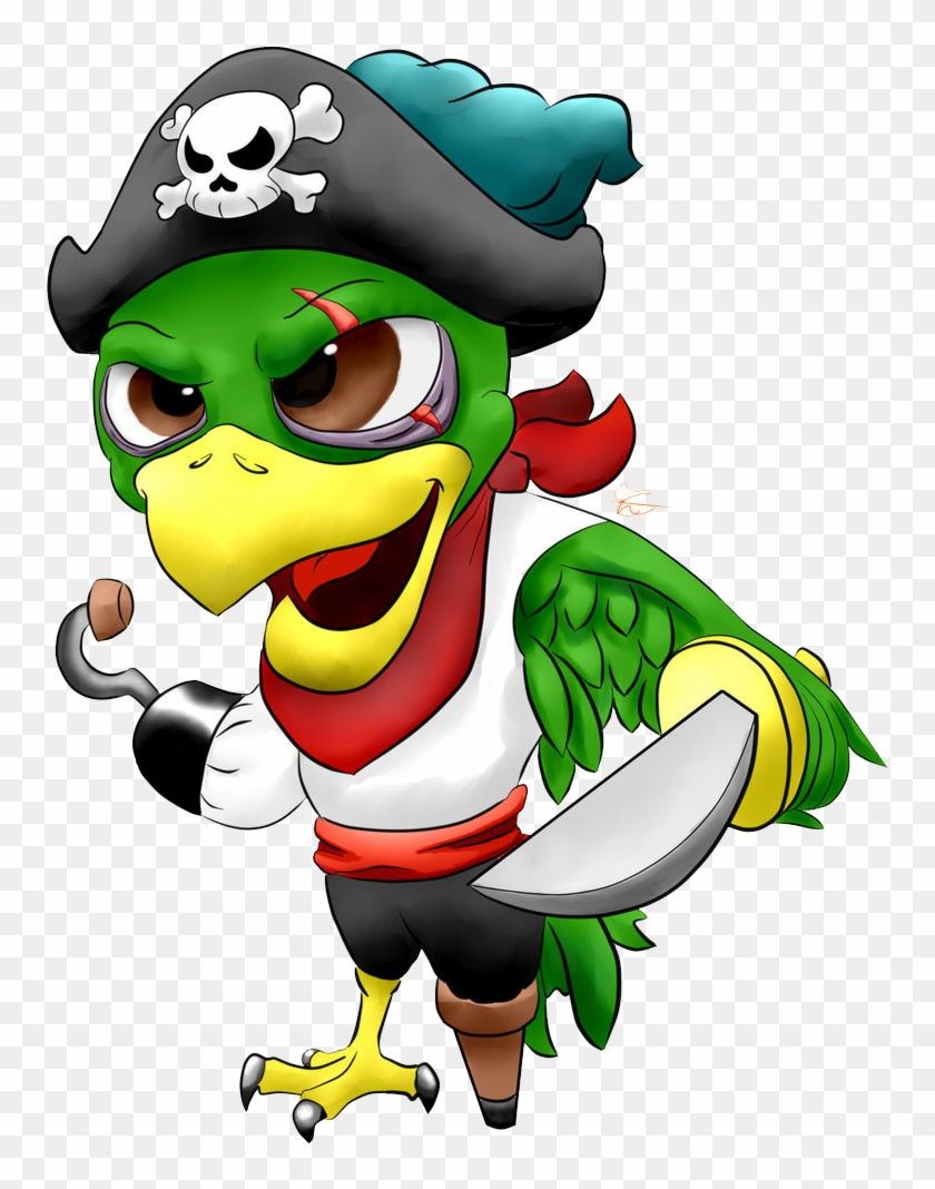 Pirate Parrot Png Image - Pirate Parrot Png #69509