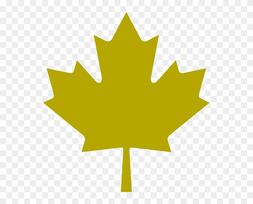 Maple Leaf Clipart October - Canadian Maple Leaf #69515
