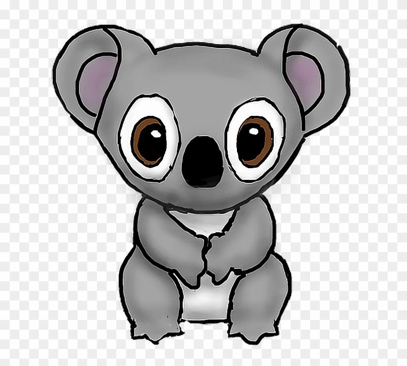 Koala Koala Sticker Nature Transparent Freetoedit Drawi - Koala #69519