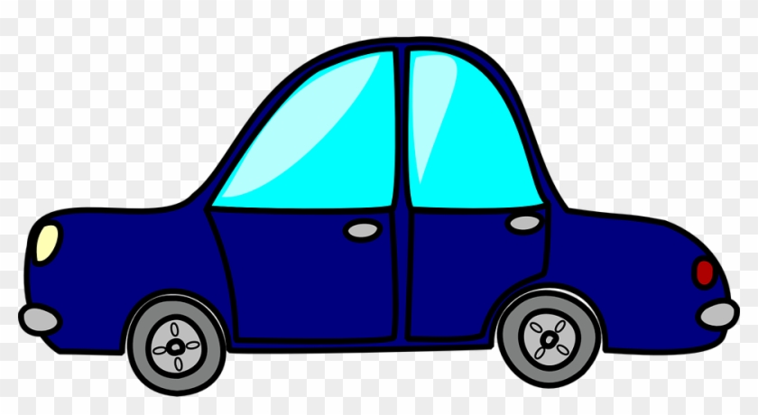 Purple Clipart Toy - Blue Toy Car Clipart #69730