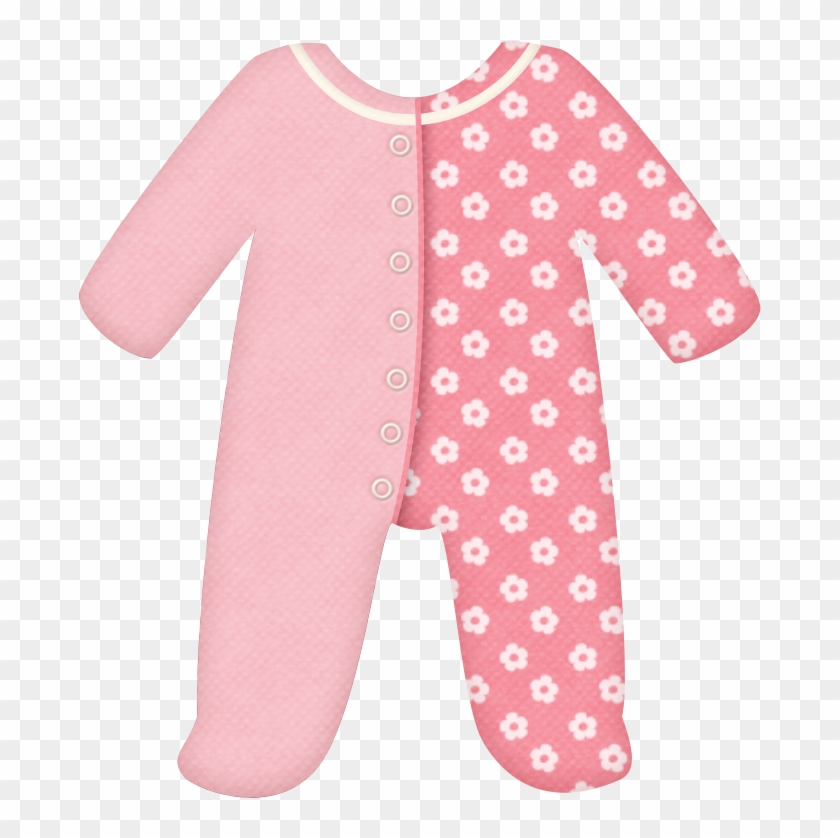 Baby Cloth And Toys Of The Baby Girl Clip Art - Baby Girl Clothes Clipart #69820