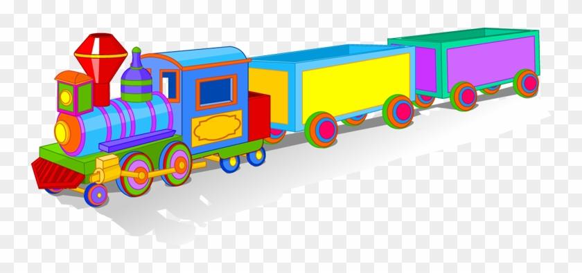 Baby - Toy Train Clip Art #69837