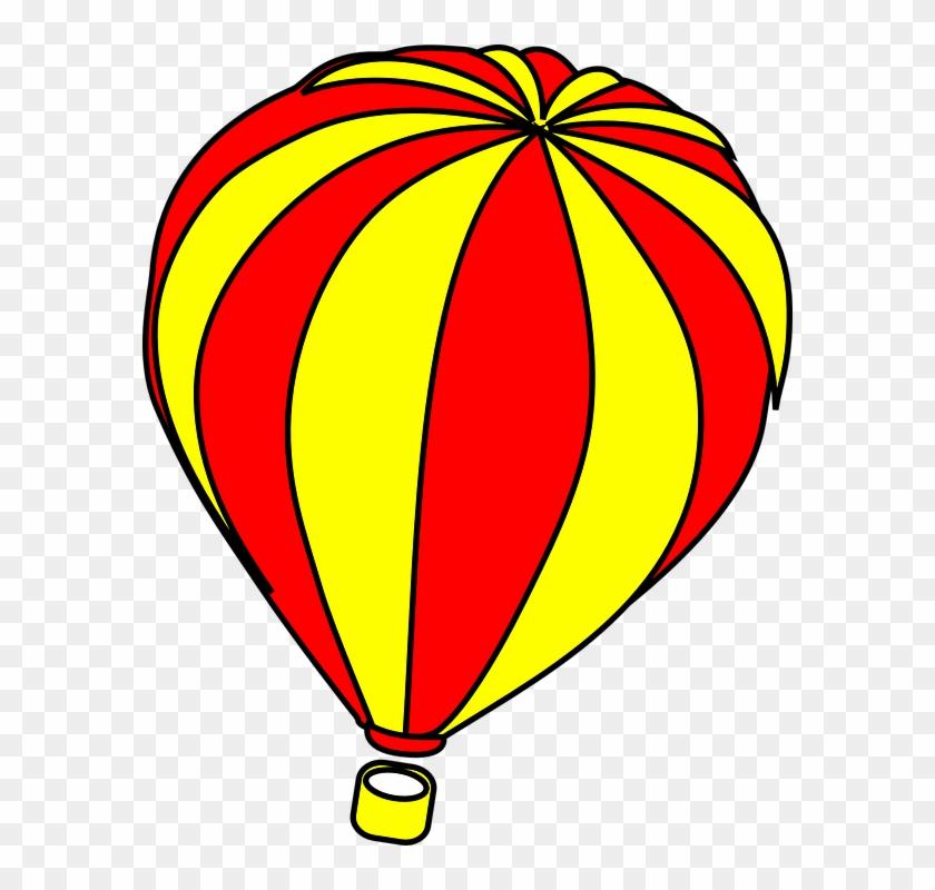 Hot Air Balloon Clip Art - Clipart Hot Air Balloon #69975