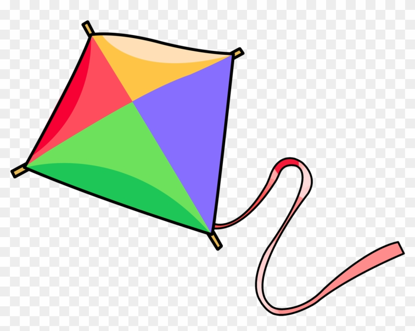 Free To Use & Public Domain Kite Clip Art - Cartoon Picture Of Kite #69977