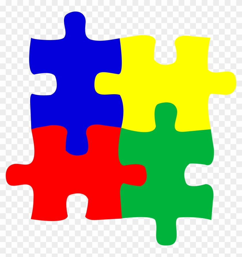 Cute Jigsaw Puzzle Piece Clip Art Medium Size - Puzzle Pieces Clip Art #69979