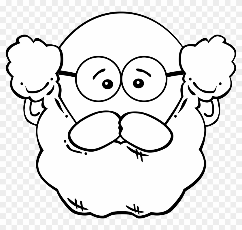 Related Cliparts - Old Man Mask Printable #70139