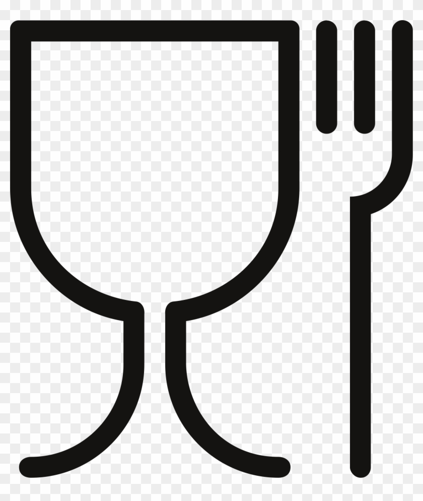 Big Image - Glass And Fork Symbol #70234
