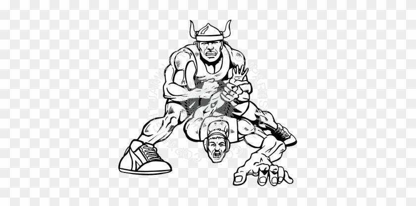 Viking Clipart Wrestling