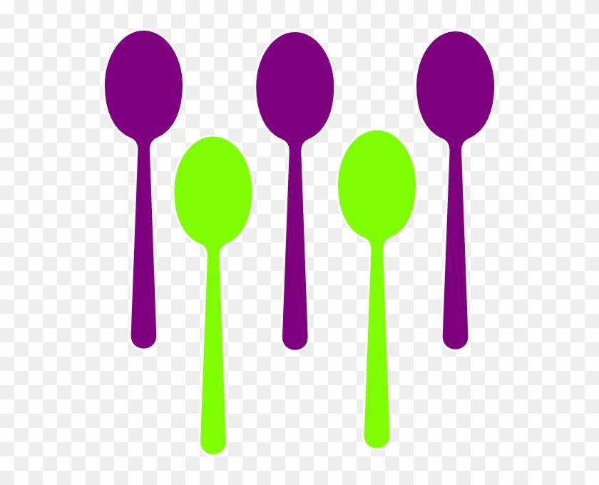Spoon Clip Art - Set Of Spoon Clipart #70465