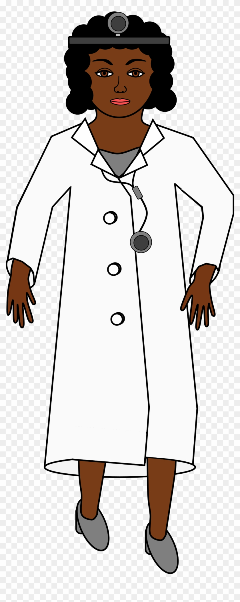 Doctor Free Clipart Clip Art Of 5 Clipartwork - Doctor With A Stethoscope #70559