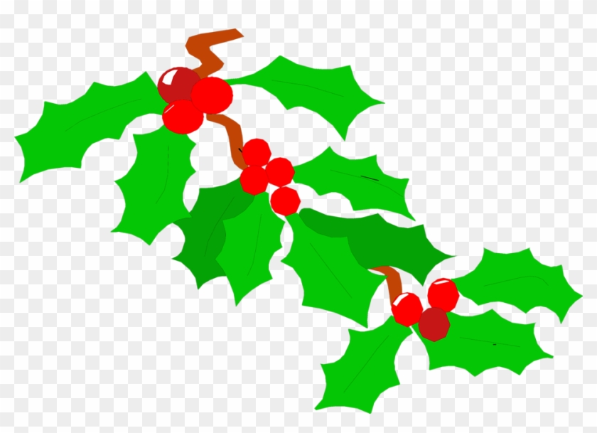 Images Of Holly Leaves - Holly Clipart No Background #70651