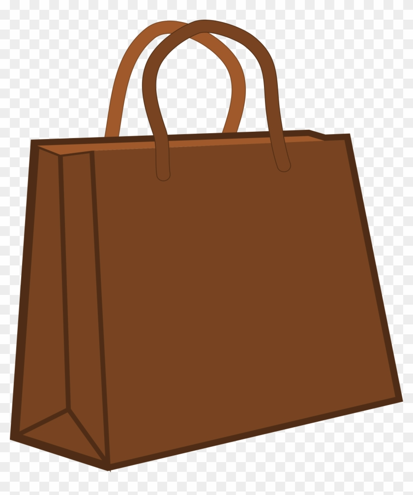Free To Use Public Domain Shopping Bag Clip Art - Paper Bag Clipart #71141