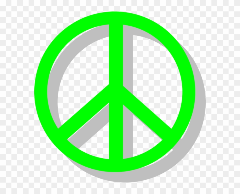 Peace Sign Vector Clip Art - Peace And Love Sign #71194