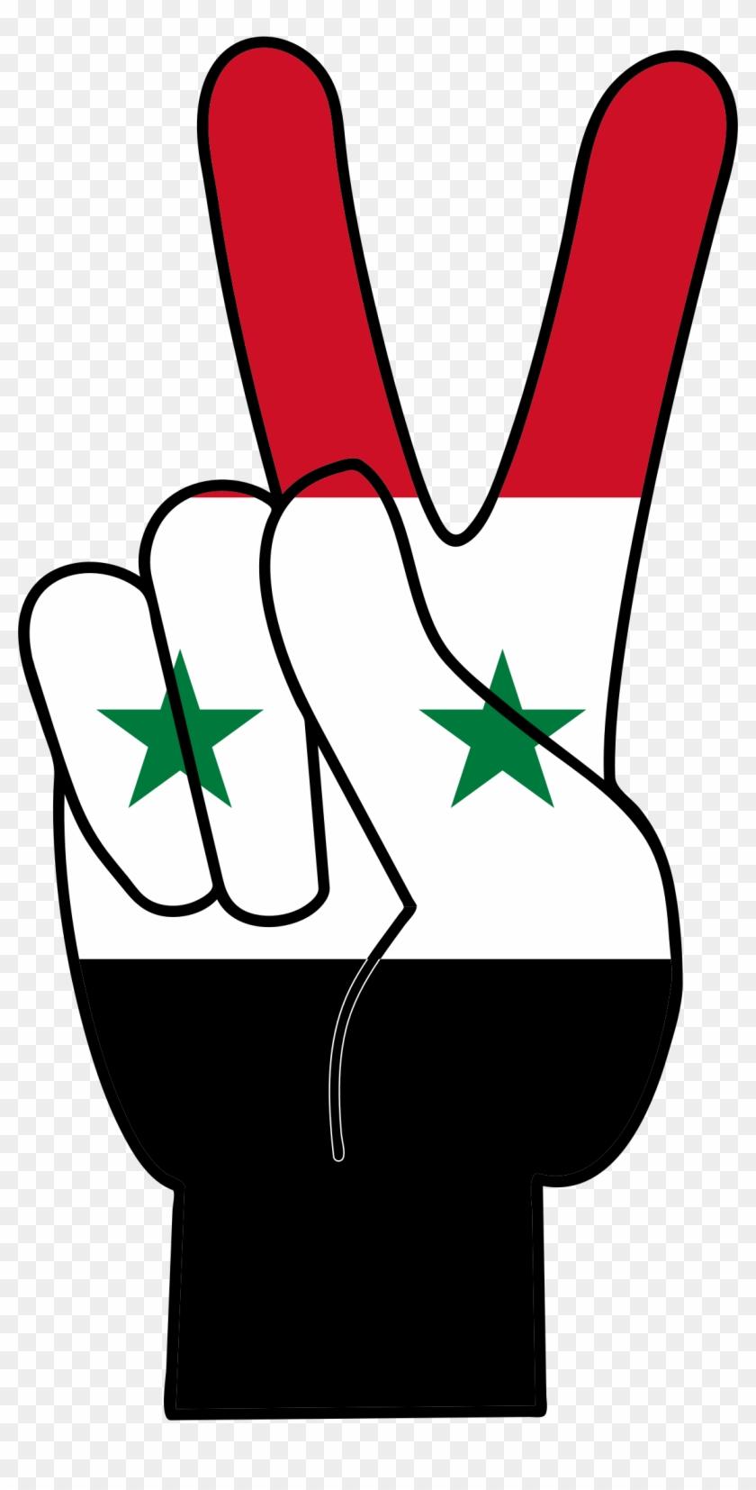 Peace Syria Civil War Symbols Free Transparent Png Clipart