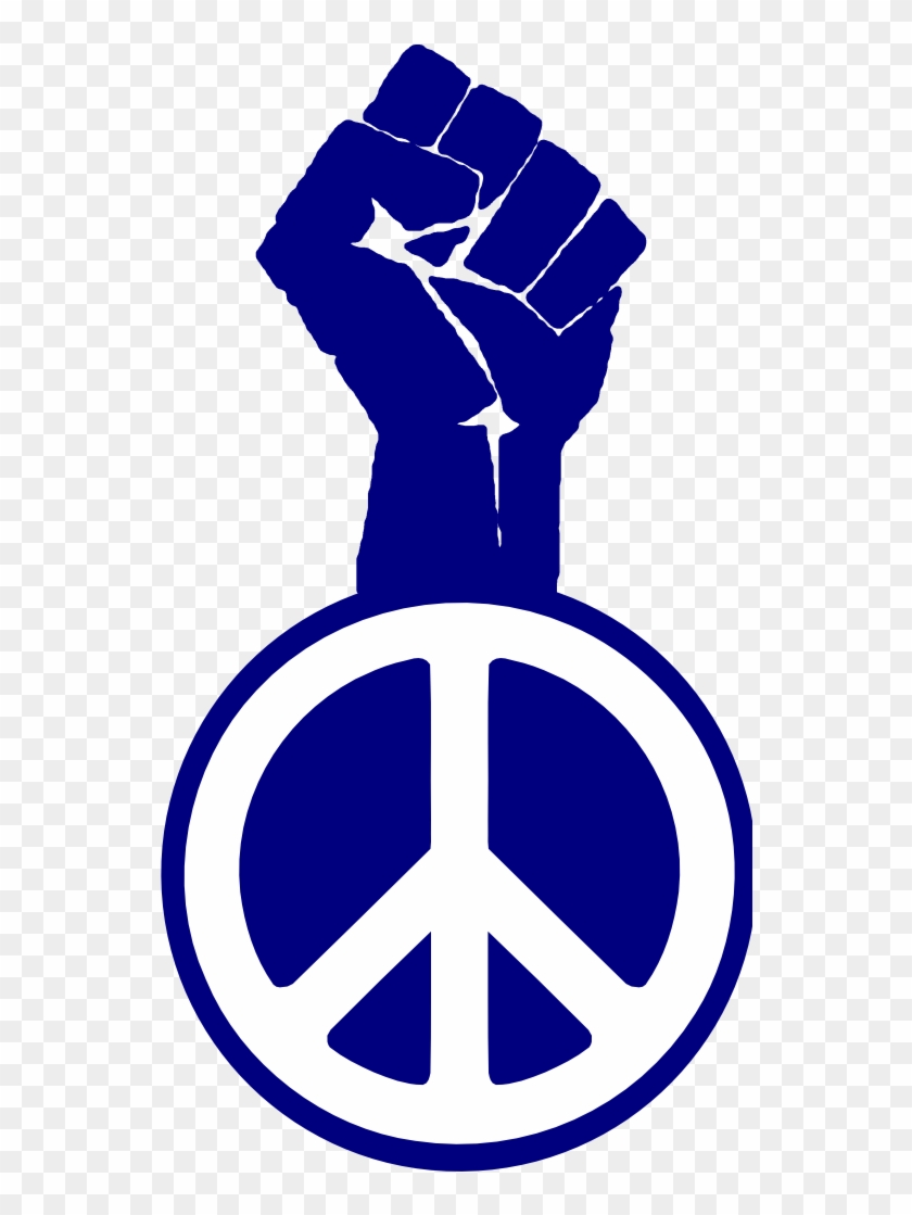 Fight The Power Occupy Wall Street Peace Fist Groovy - Symbols For Cesar Chavez #71380