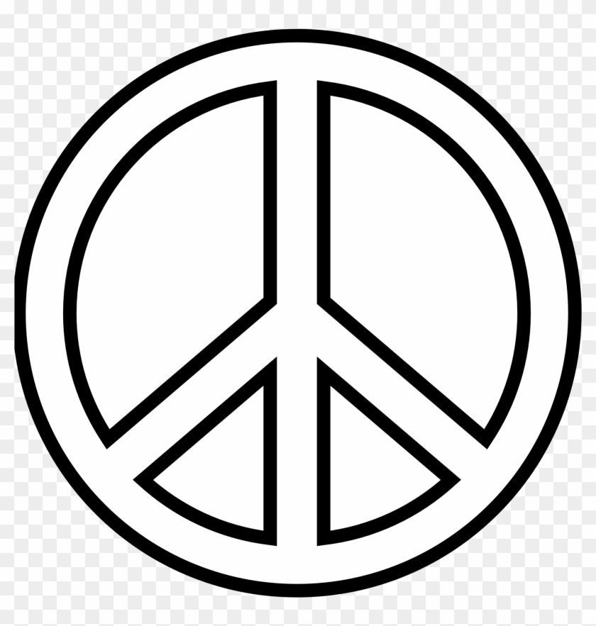 Peace Sign Images Free Clip Art Draw A Peace Sign Free