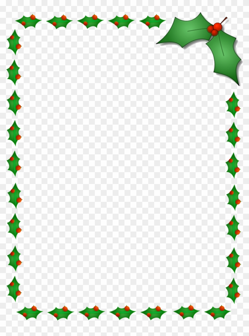 Christmas Border Png Photos - Fire Fighter Christmas Card #71549