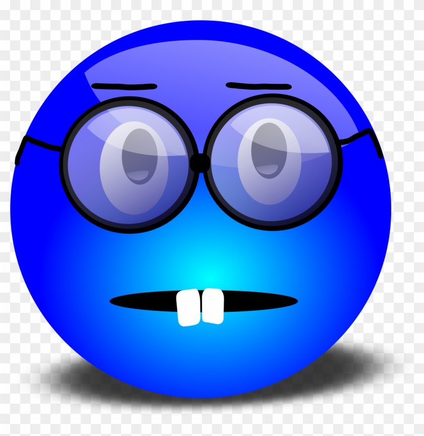 Clipart Man With Sunglasses On - Smiling Face With Glasses Clipart #71679