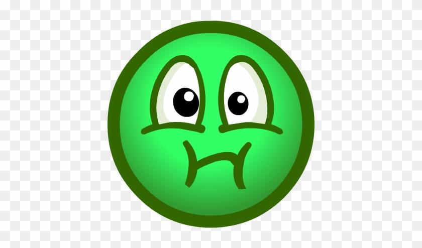 Sick Emoticon Face - Sick Face Clipart #71705